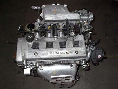 Описание двигателей 4A-F, 4A-FE, 5A-FE, 7A-FE и 4A-GE.